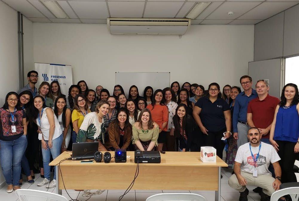 Programa de Voluntariado Empresarial iniciado com sucesso!