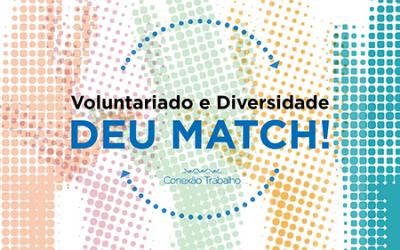 """E-book """"Voluntariado e Diversidade – Deu Match!"""""""